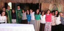 Entrada dos novos missionários