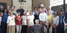 Grupo de franceses visita o Moinho