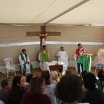 Vizinhos da Missão de Portugal em Missa