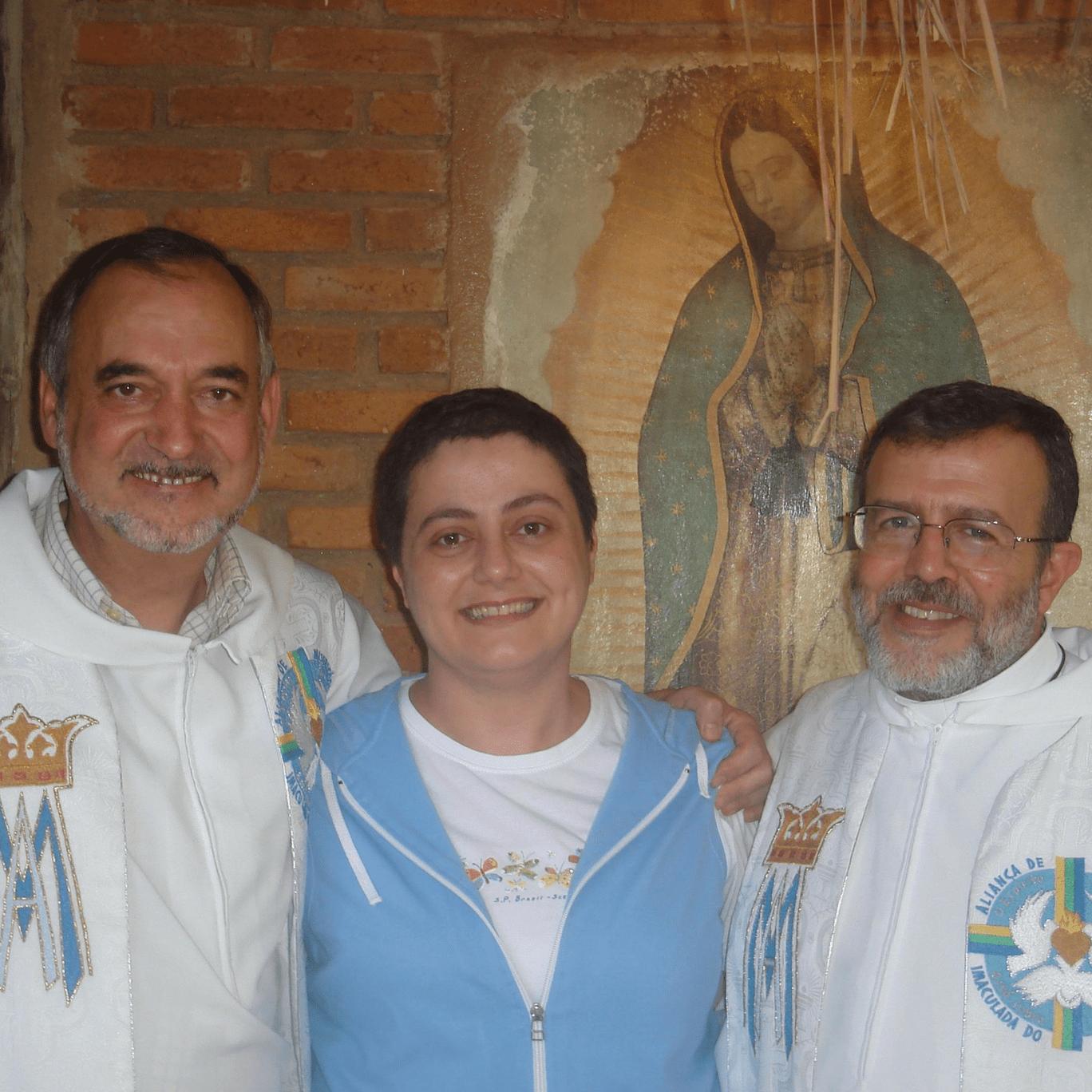 Padre Antonello, Maria Paola e Padre Henrique
