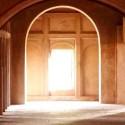 corredor do mosteiro