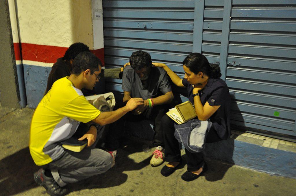 Evangelização de rua