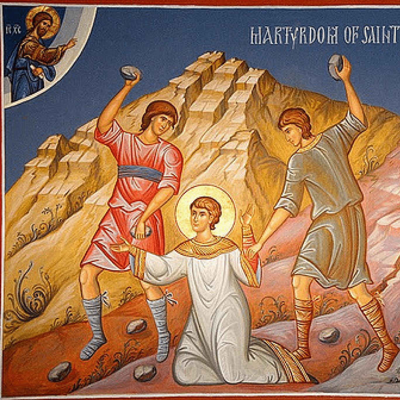 Ícone do Martírio de Santo Estevão