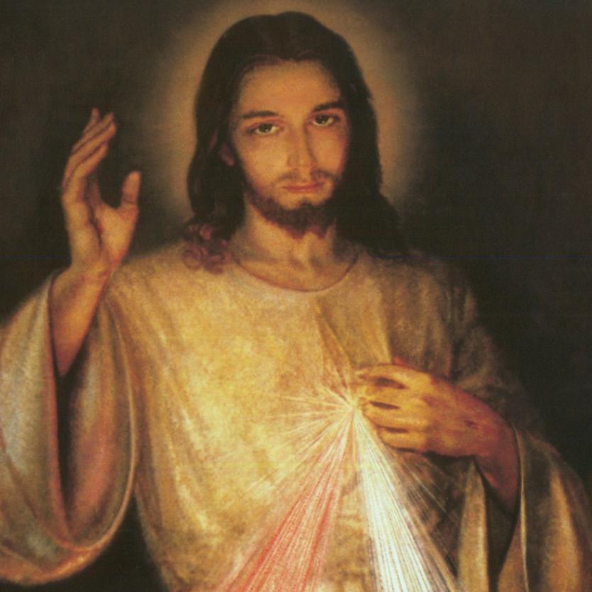 Quadro de Jesus Misericordioso