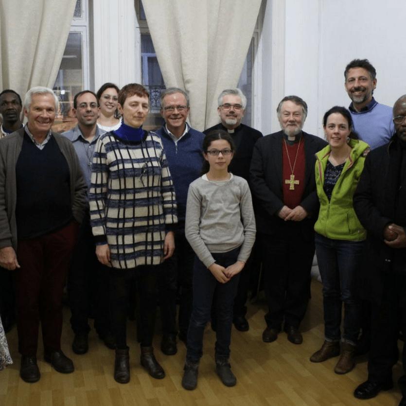 Fraternidade da Bélgica com o núncio apostólico