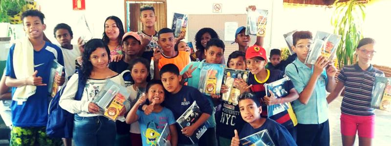 CCA Pe. Pio Recebe Doações do Parceiro Accor Hotels