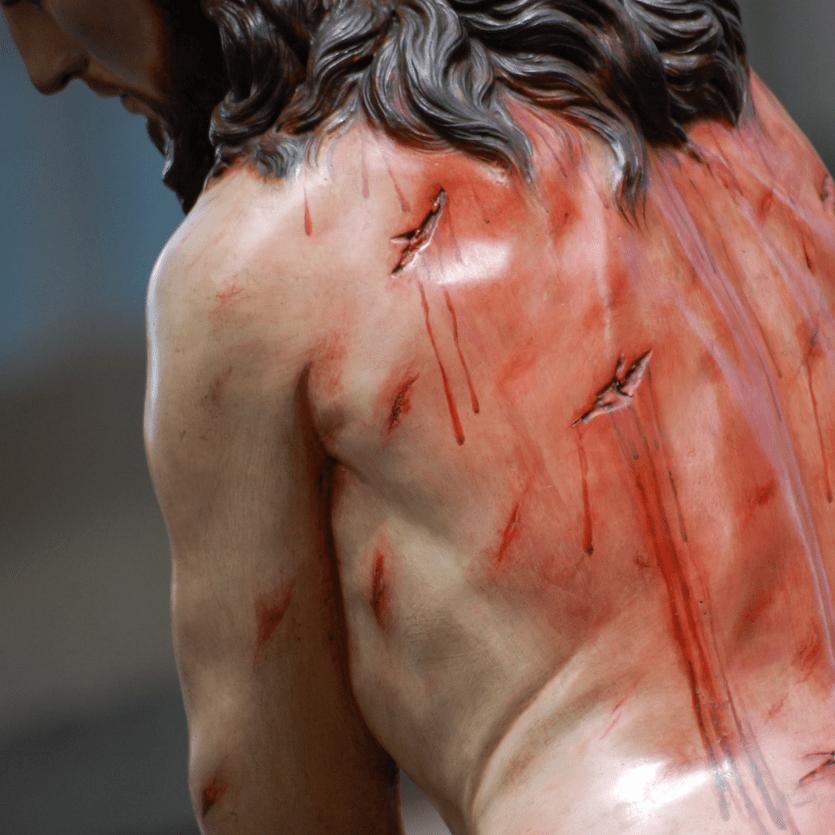 Estátua de Cristo flegelado