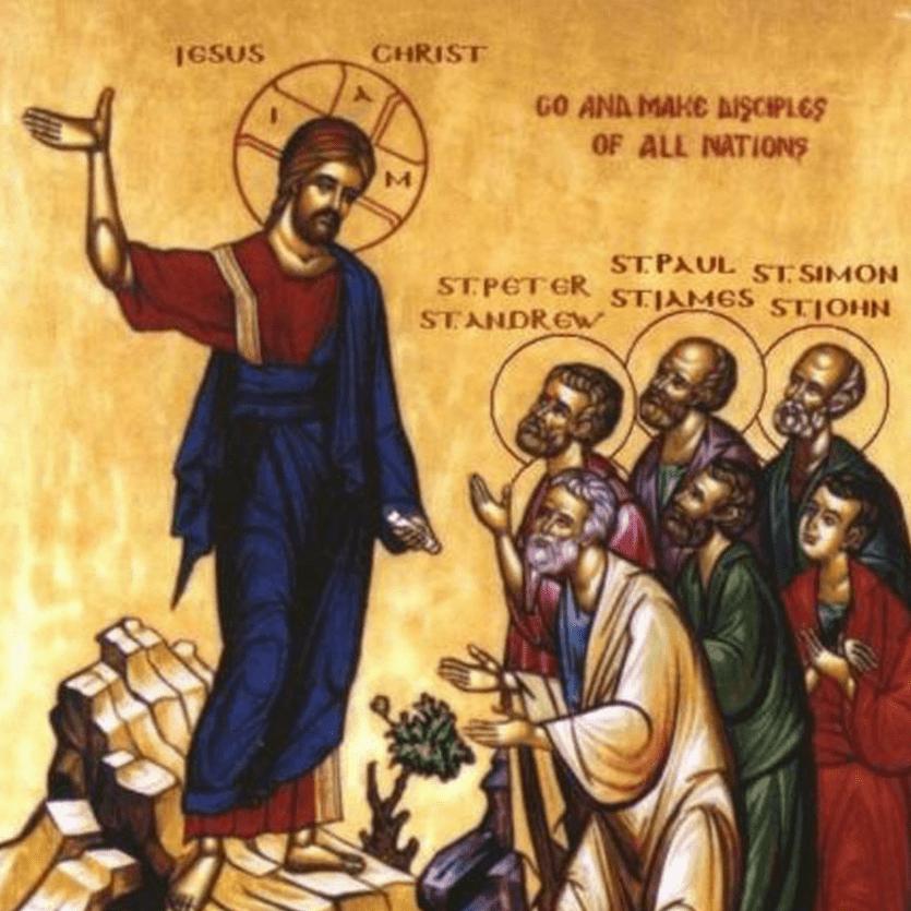 Ícone da Ascensão de Jesus