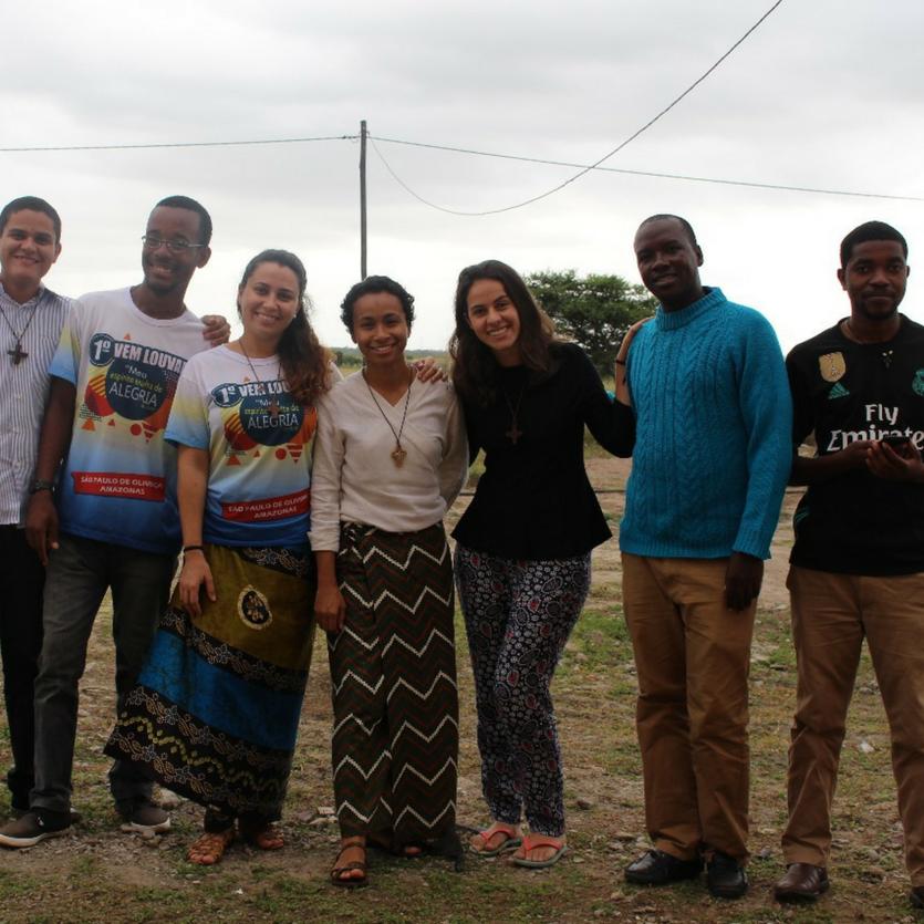 Seis vocacionados da Missão de Moçambique