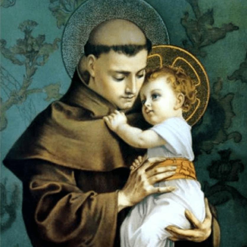 Santo Antônio com o Menino Jesus