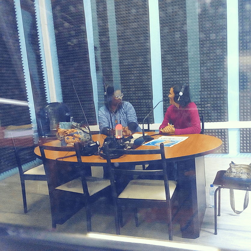 Missionárias da Aliança na rádio