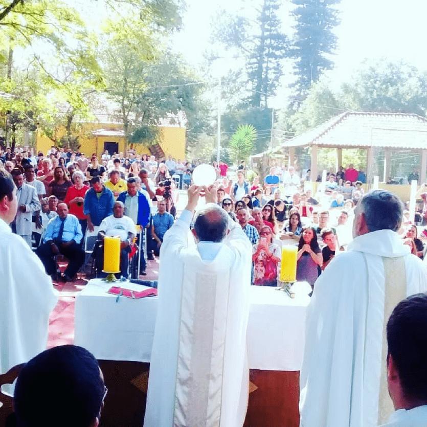 consagração da santa missa