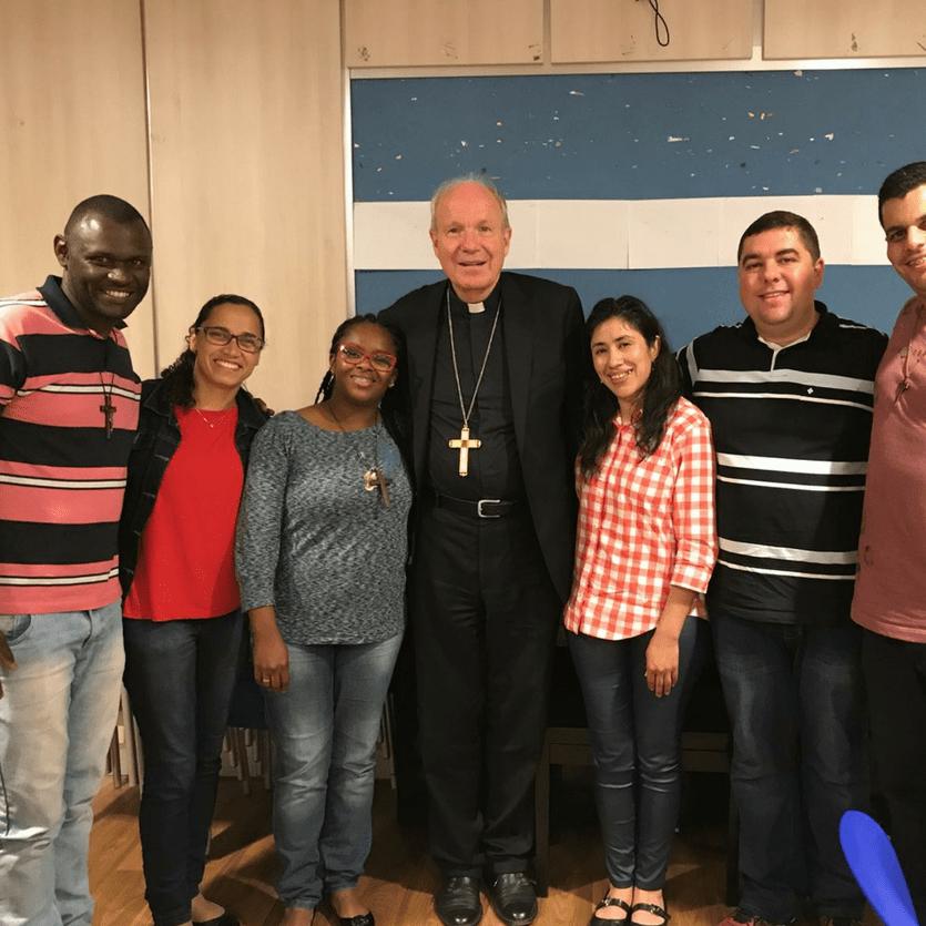 missionários da Aliança no Encontro Mundial das Famílias