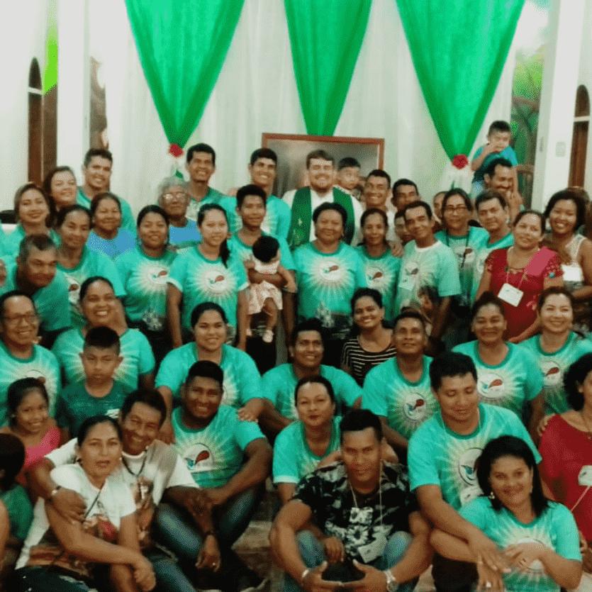 Casais que participaram do encontro Caná