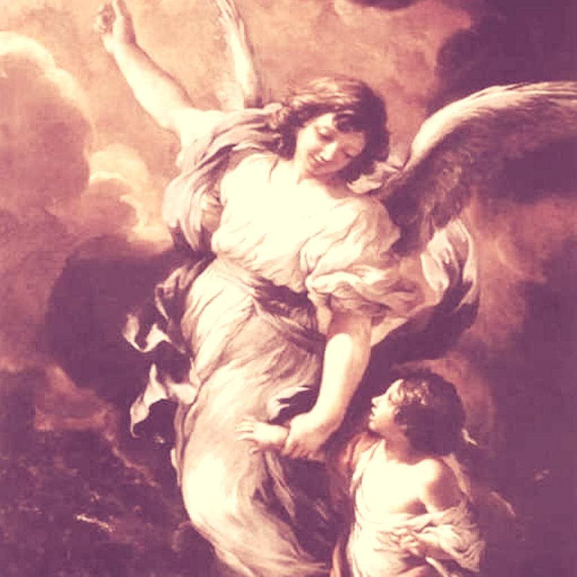 Pintura do Anjo d
