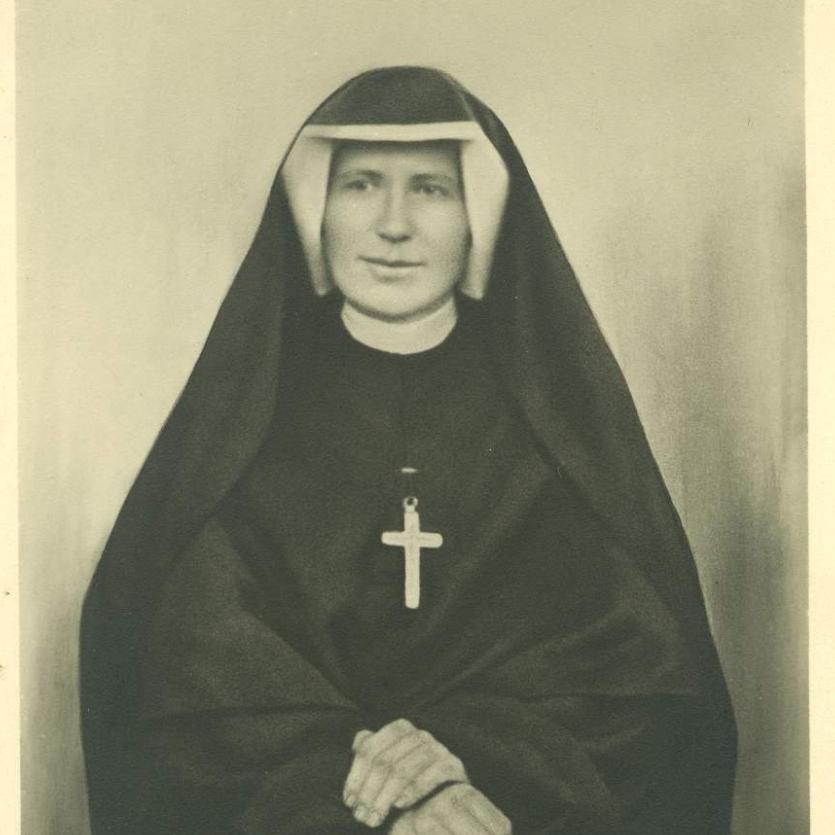 foto de Santa Faustina