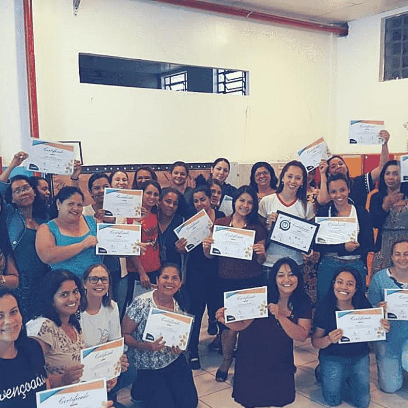Participantes da formação Creche Segura