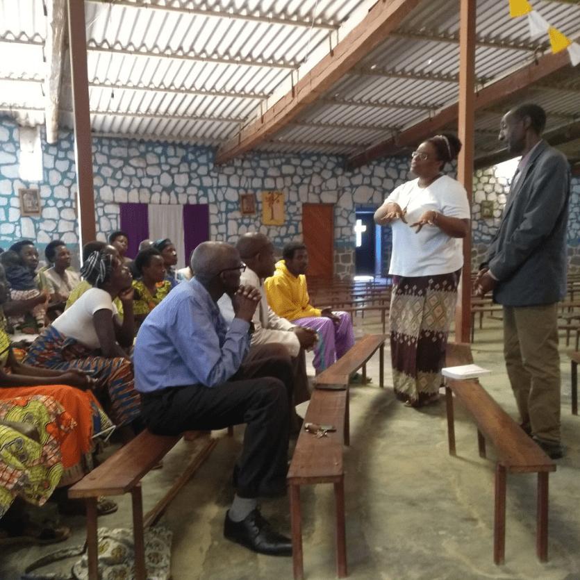 Missionários pregam em Rwanda