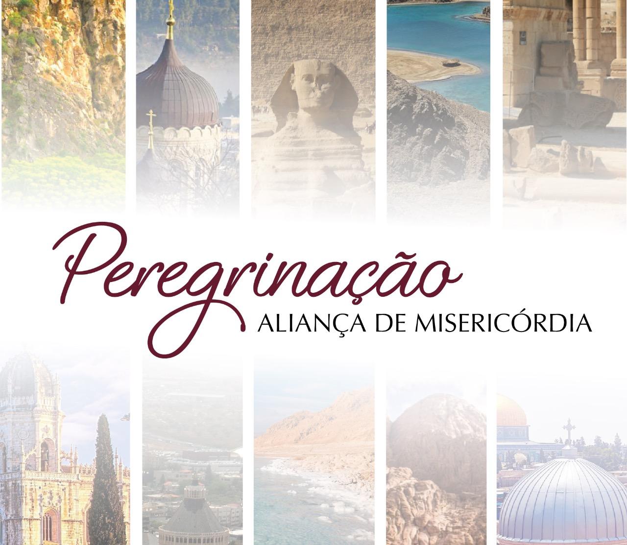 Banner da Peregrinação da Aliança de Misericórdia
