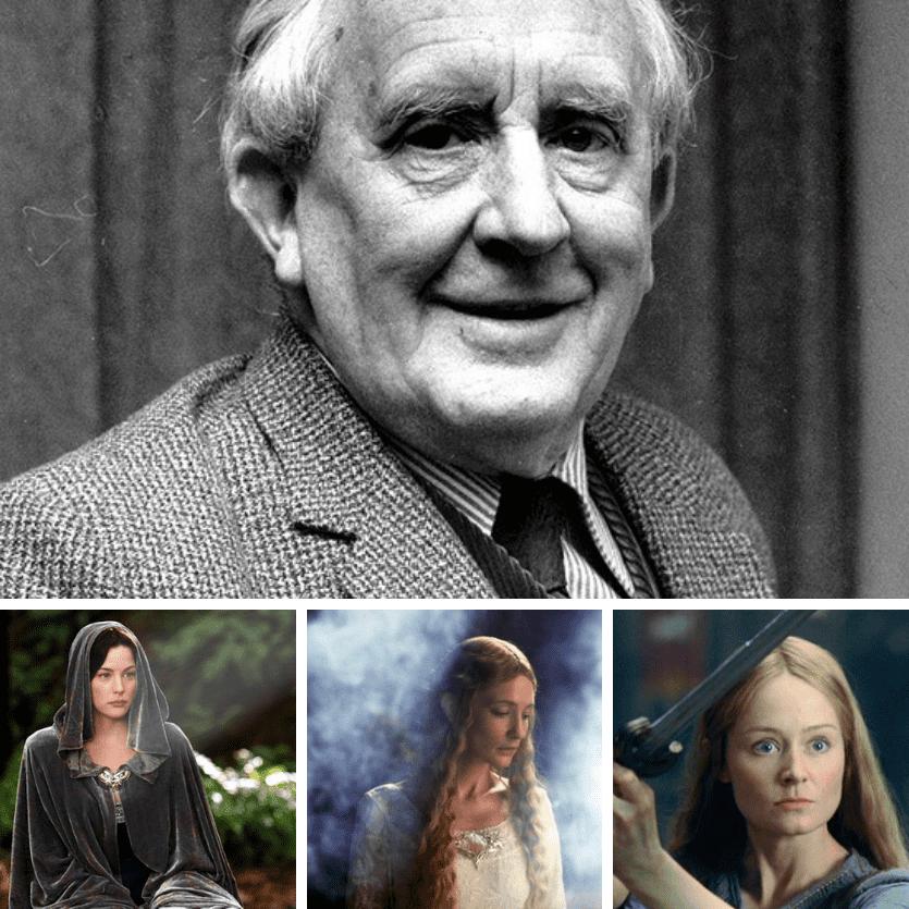 JRR Tolkien e as personagens femininas de suas histórias