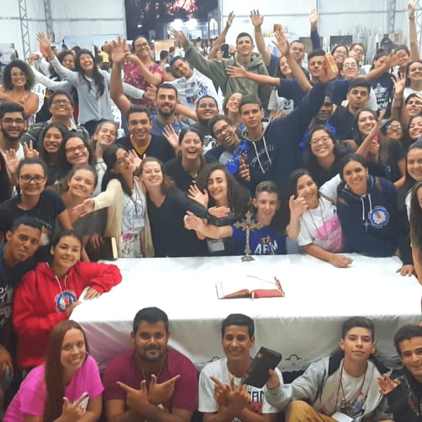 Jovens participantes do Encontro Samuel