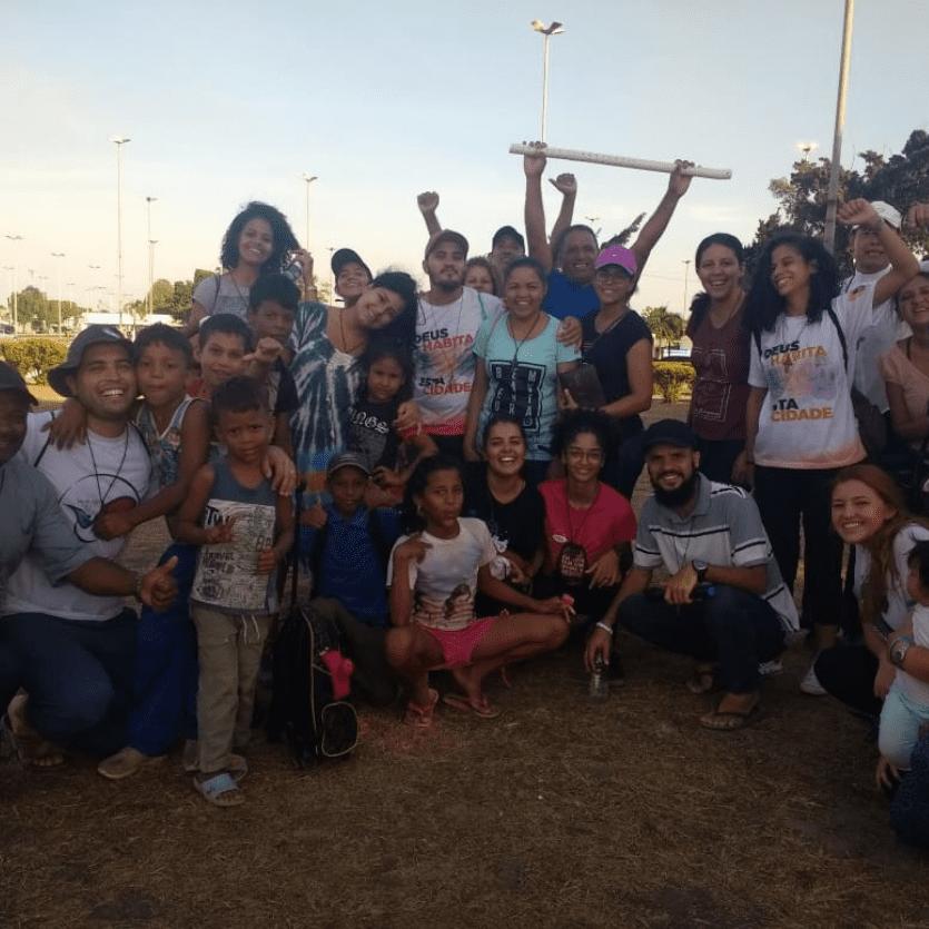 Participantes da missão na venezuela
