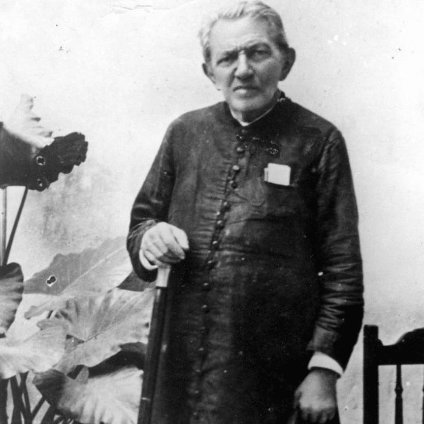 Foto antiga de Padre Cícero