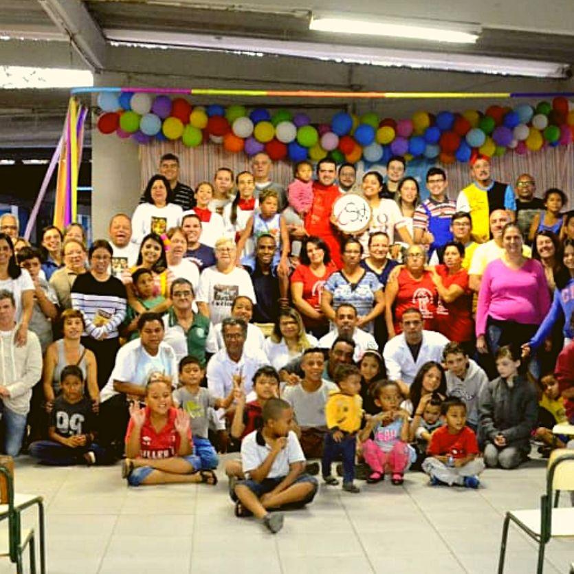 Participantes do Retiro das Estrelinhas em Tremembé