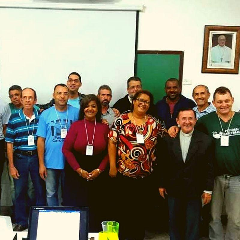 Membros da coordenação estadual da Pastoral Carcerária