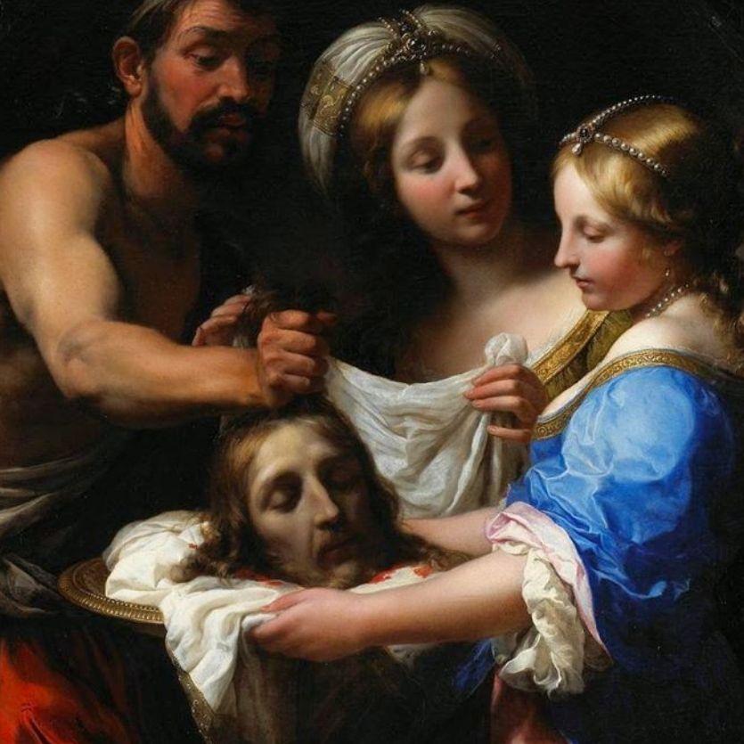 Pintura do martírio de São João Batista.