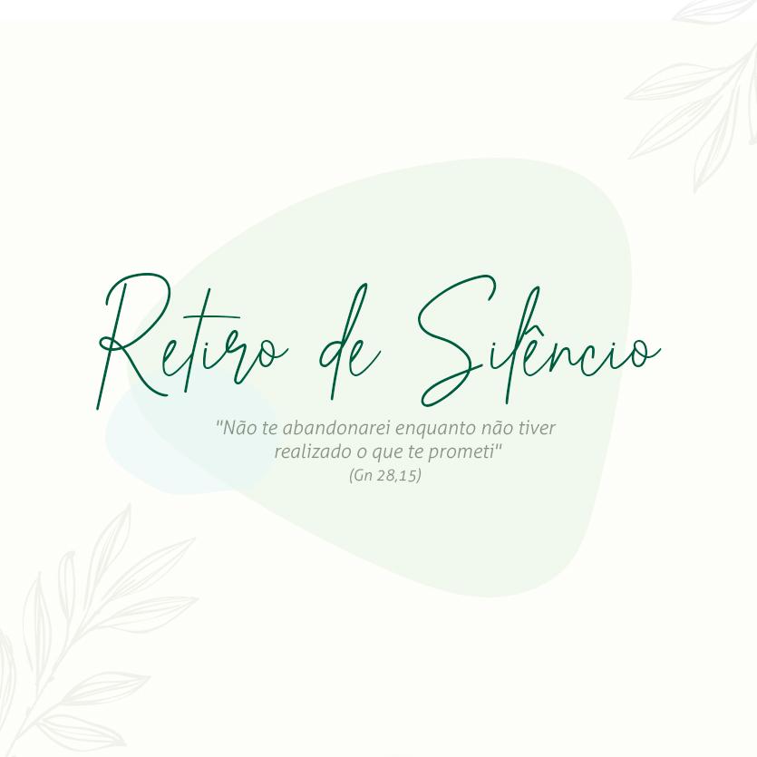 Banner do Retiro de Silêncio