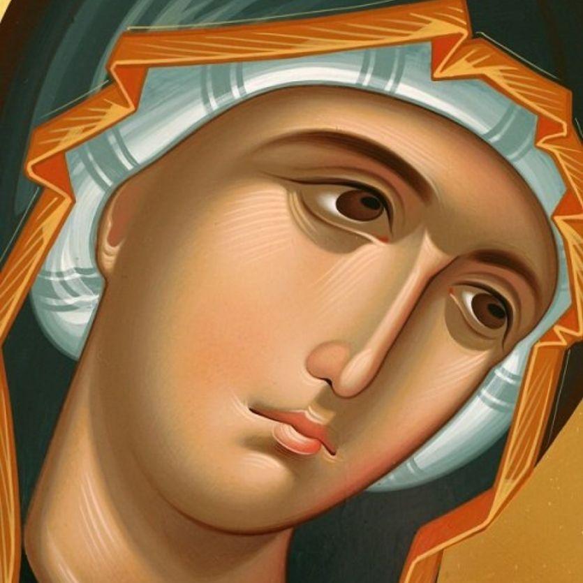Ícone da Virgem Maria
