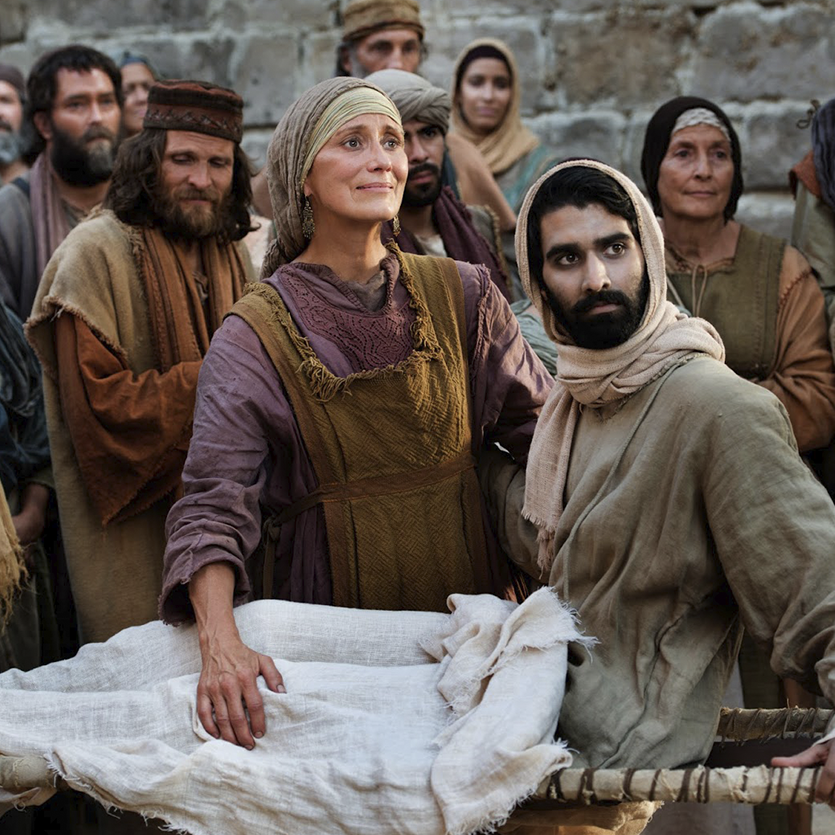 Jesus teve compaixão da viúva de Naim