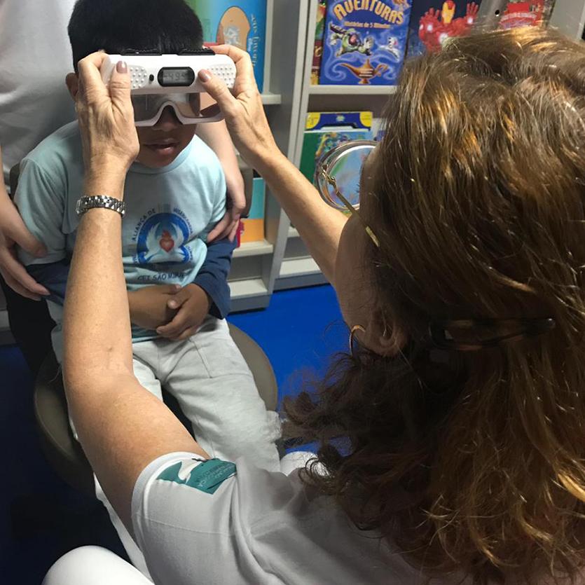 CEI São Miguel recebe projeto Boa Visão Boa Educação