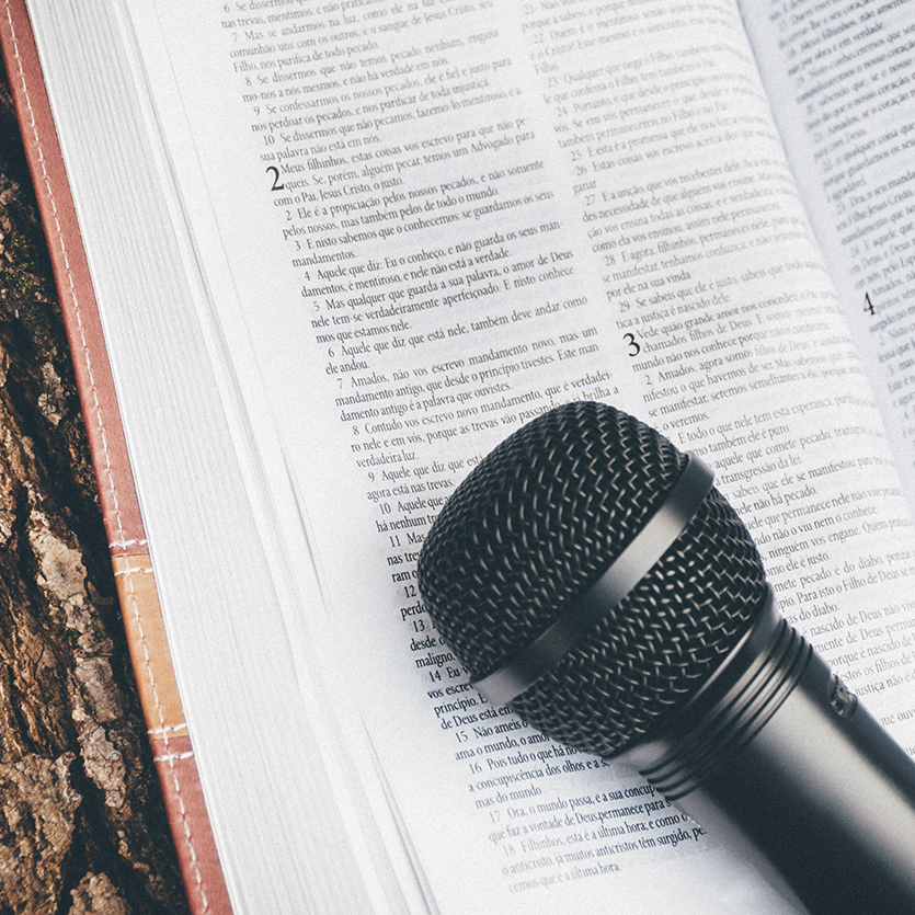 Microfone do Pregador