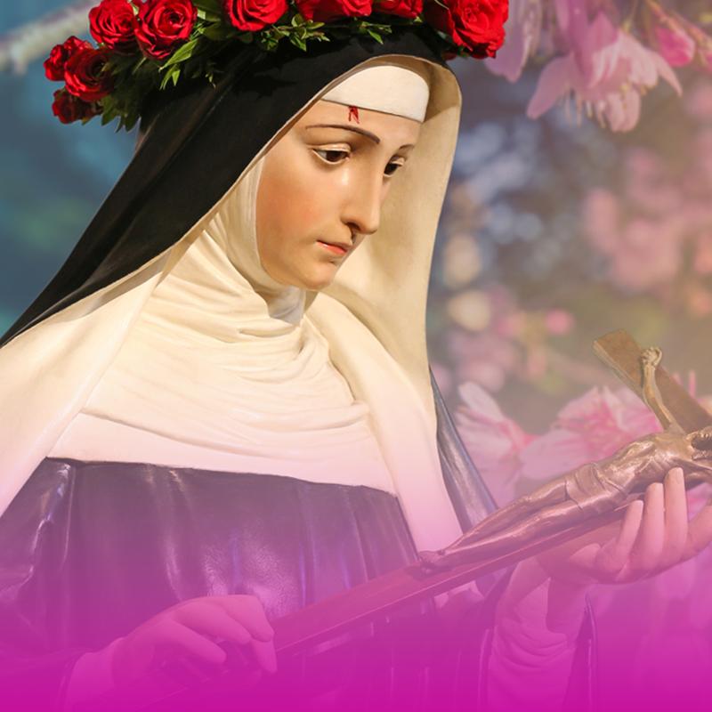 Santa Rita de Cássia, empoderada pelo Espírito Santo