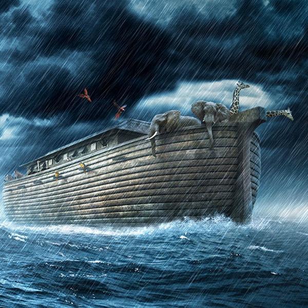 arca e dilúvio