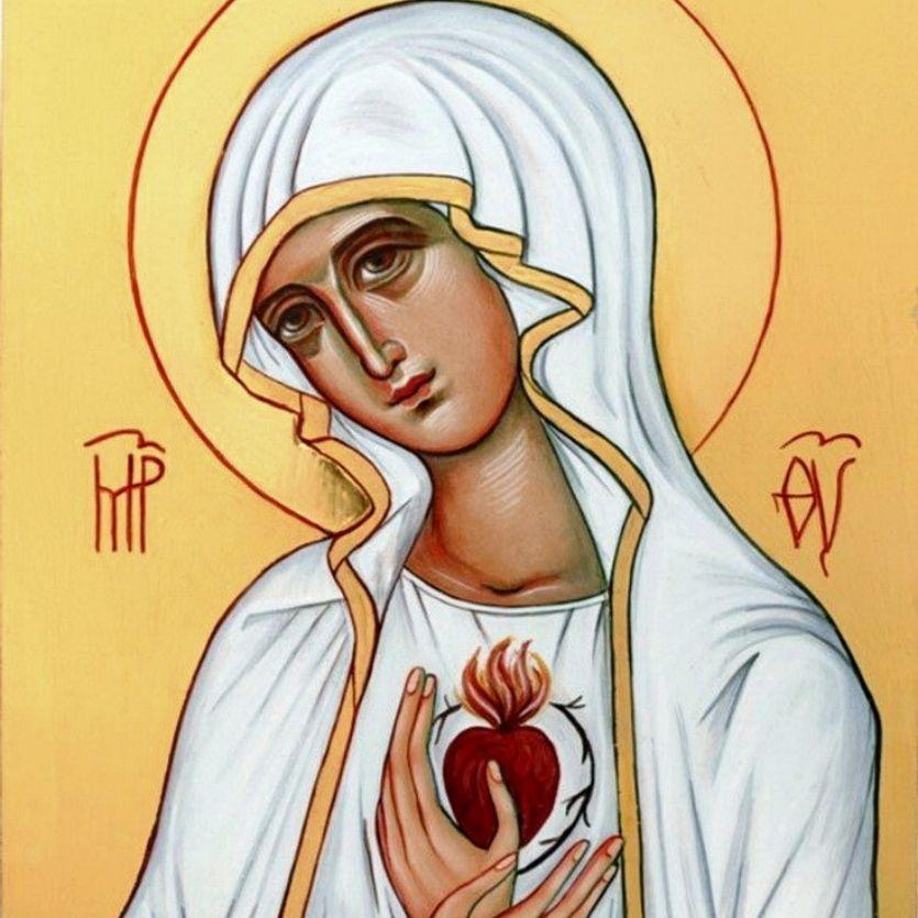 Ícone do Imaculado Coração de Maria