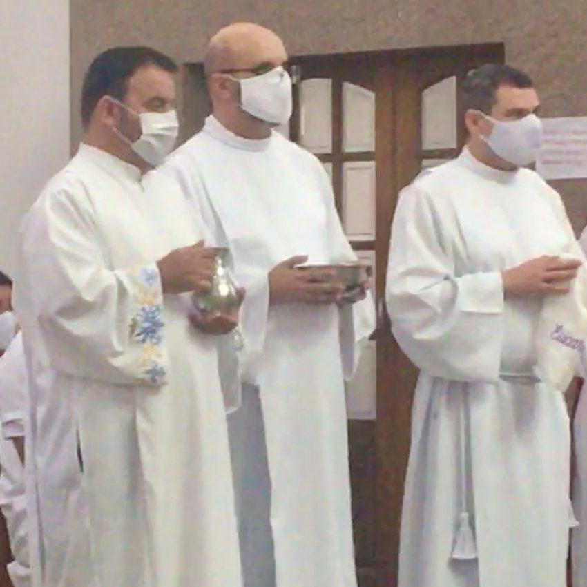 Missionários da Aliança receberam o ministério do acolitato